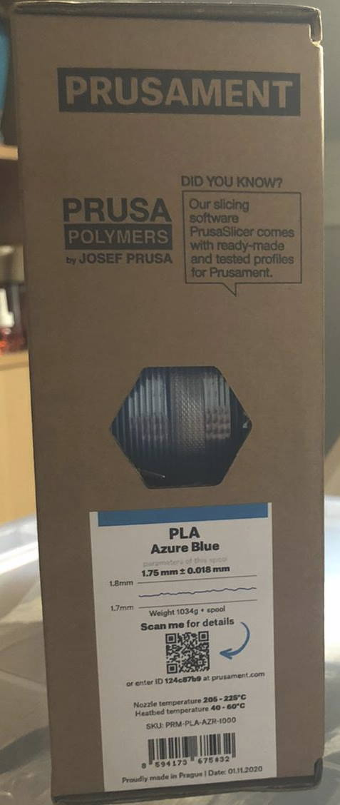 Prusament Azure Blue review